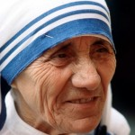 This is Mother Teresa.