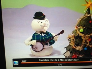 claymation snowman