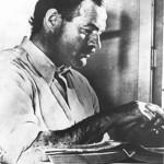 This is Ernest Hemingway. (public domain photo)