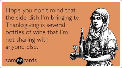 thanksgiving funny ecard