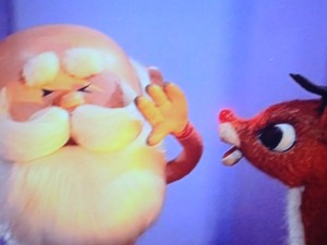 santa claymation